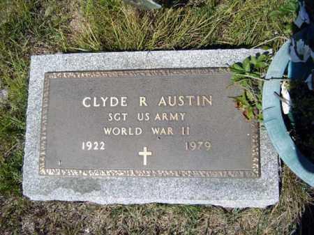 AUSTIN (WWII), CLYDE R - Warren County, New York | CLYDE R AUSTIN (WWII) - New York Gravestone Photos