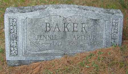 BAKER, JENNIE - Warren County, New York   JENNIE BAKER - New York Gravestone Photos