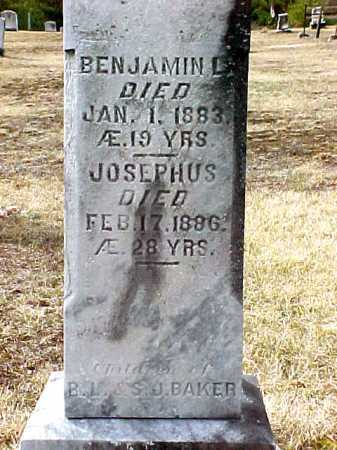 BAKER, BENJAMIN L - Warren County, New York | BENJAMIN L BAKER - New York Gravestone Photos