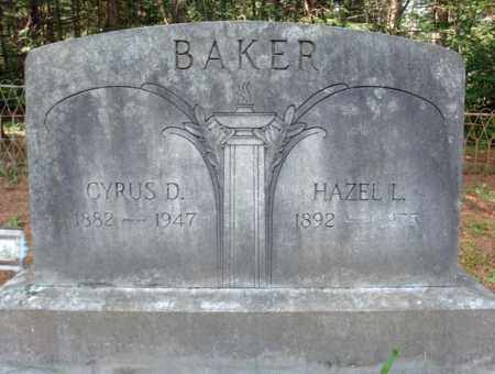 BAKER, HAZEL L - Warren County, New York | HAZEL L BAKER - New York Gravestone Photos