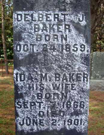 BAKER, DELBERT J - Warren County, New York | DELBERT J BAKER - New York Gravestone Photos
