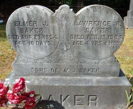 BAKER, LAWRENCE R - Warren County, New York | LAWRENCE R BAKER - New York Gravestone Photos