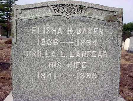 BAKER, ORILLA L - Warren County, New York | ORILLA L BAKER - New York Gravestone Photos