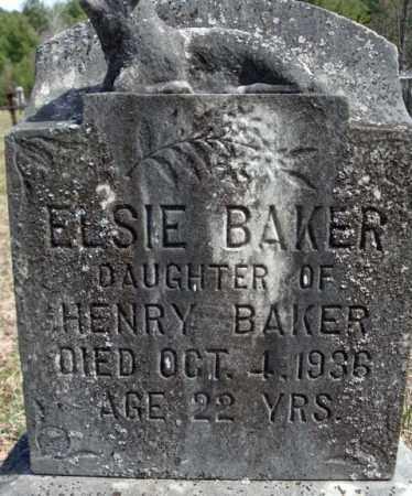 BAKER, ELSIE - Warren County, New York | ELSIE BAKER - New York Gravestone Photos