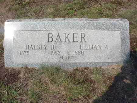 BAKER, LILLIAN A - Warren County, New York | LILLIAN A BAKER - New York Gravestone Photos