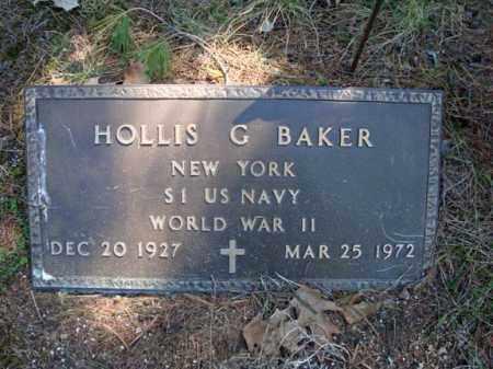 BAKER, HOLLIS G - Warren County, New York | HOLLIS G BAKER - New York Gravestone Photos