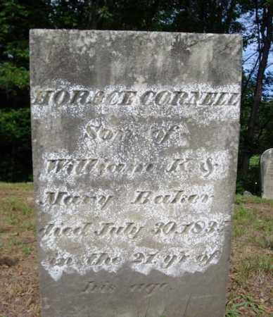 BAKER, HORACE CORNELL - Warren County, New York   HORACE CORNELL BAKER - New York Gravestone Photos
