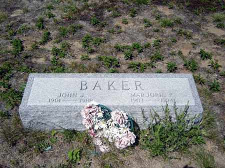 BAKER, MARJORIE P - Warren County, New York | MARJORIE P BAKER - New York Gravestone Photos