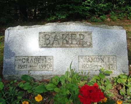 BAKER, GRACE I - Warren County, New York | GRACE I BAKER - New York Gravestone Photos