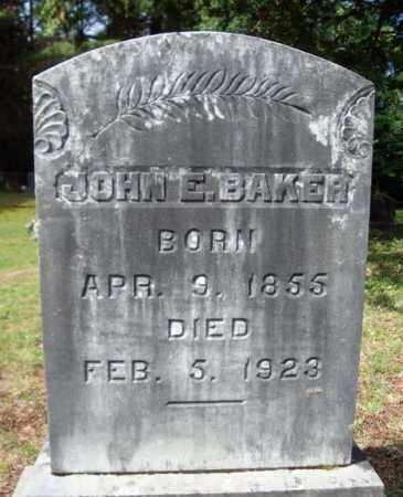 BAKER, JOHN E - Warren County, New York | JOHN E BAKER - New York Gravestone Photos