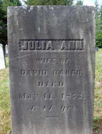 BAKER, JULIA ANN - Warren County, New York   JULIA ANN BAKER - New York Gravestone Photos