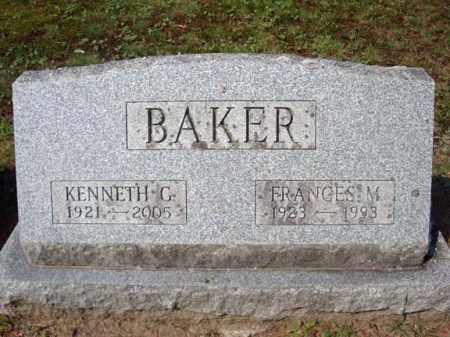 BAKER, FRANCES M - Warren County, New York | FRANCES M BAKER - New York Gravestone Photos
