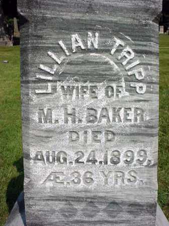 BAKER, LILLIAN - Warren County, New York | LILLIAN BAKER - New York Gravestone Photos