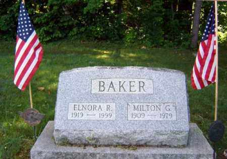 BAKER, MILTON G - Warren County, New York | MILTON G BAKER - New York Gravestone Photos