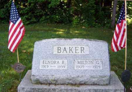 BAKER, ELNORA R - Warren County, New York | ELNORA R BAKER - New York Gravestone Photos