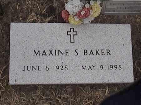 BAKER, MAXINE S. - Warren County, New York | MAXINE S. BAKER - New York Gravestone Photos