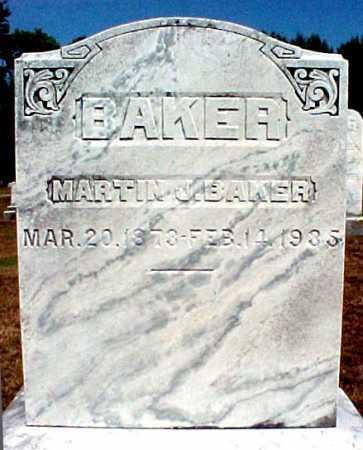 BAKER, MARTIN J - Warren County, New York | MARTIN J BAKER - New York Gravestone Photos