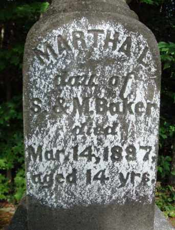 BAKER, MARTHA L - Warren County, New York | MARTHA L BAKER - New York Gravestone Photos