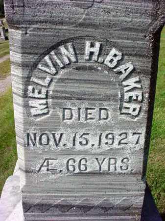 BAKER, MELVIN H - Warren County, New York | MELVIN H BAKER - New York Gravestone Photos