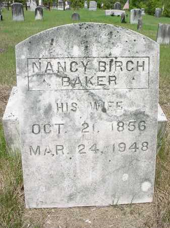 BAKER, NANCY - Warren County, New York | NANCY BAKER - New York Gravestone Photos