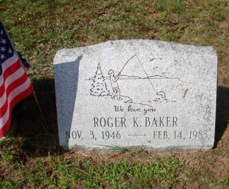BAKER, ROGER K - Warren County, New York | ROGER K BAKER - New York Gravestone Photos