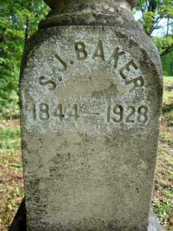 BAKER, S J - Warren County, New York | S J BAKER - New York Gravestone Photos