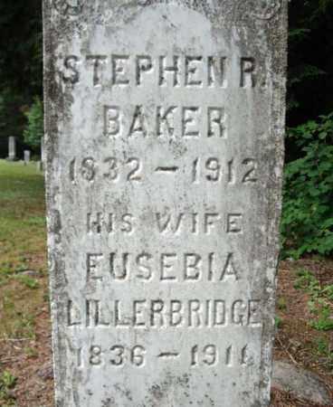 BAKER, EUSEBIA - Warren County, New York | EUSEBIA BAKER - New York Gravestone Photos