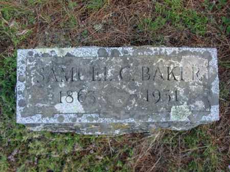 BAKER, SAMUEL C - Warren County, New York | SAMUEL C BAKER - New York Gravestone Photos