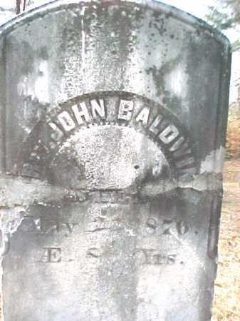 BALDWIN, REV. JOHN - Warren County, New York | REV. JOHN BALDWIN - New York Gravestone Photos