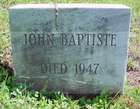 BAPTISTE, JOHN - Warren County, New York | JOHN BAPTISTE - New York Gravestone Photos