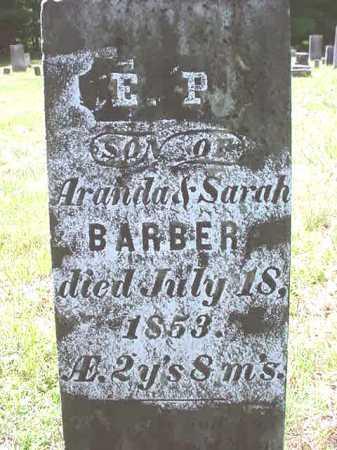 BARBER, E P - Warren County, New York   E P BARBER - New York Gravestone Photos