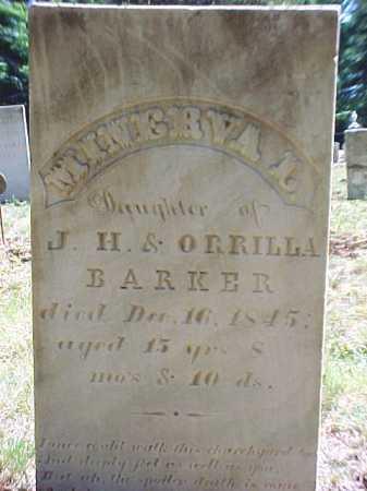 BARKER, MINERVA L - Warren County, New York | MINERVA L BARKER - New York Gravestone Photos