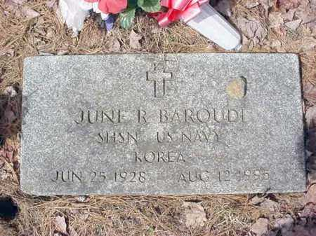 BAROUDI, JUNE R - Warren County, New York | JUNE R BAROUDI - New York Gravestone Photos