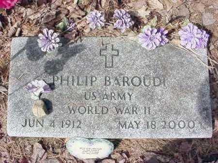 BAROUDI (WWII), PHILIP - Warren County, New York | PHILIP BAROUDI (WWII) - New York Gravestone Photos