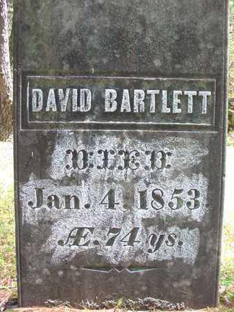 BARTLETT, DAVID - Warren County, New York | DAVID BARTLETT - New York Gravestone Photos