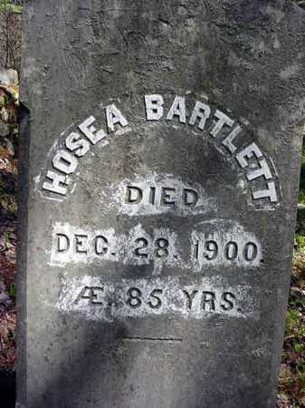 BARTLETT, HOSEA - Warren County, New York | HOSEA BARTLETT - New York Gravestone Photos
