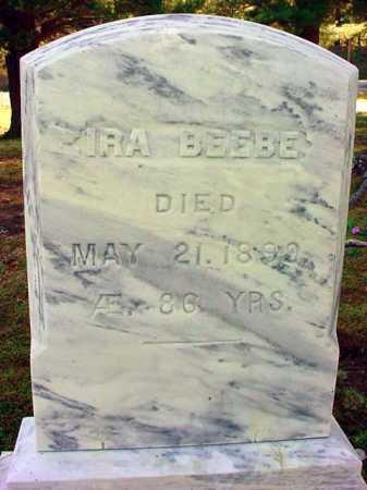BEEBE, IRA - Warren County, New York | IRA BEEBE - New York Gravestone Photos