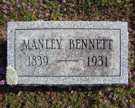 BENNETT, MANLEY - Warren County, New York | MANLEY BENNETT - New York Gravestone Photos