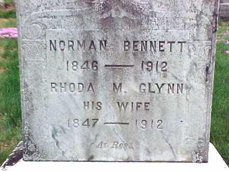 BENNETT, RHODA M - Warren County, New York | RHODA M BENNETT - New York Gravestone Photos