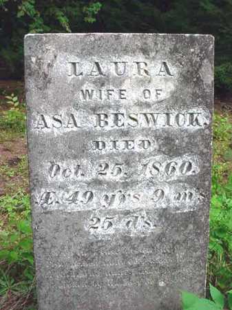 BESWICK, LAURA - Warren County, New York | LAURA BESWICK - New York Gravestone Photos