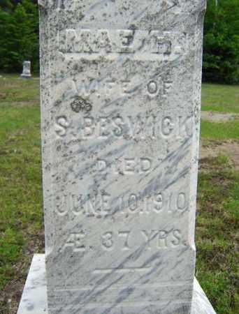BESWICK, MAE H - Warren County, New York | MAE H BESWICK - New York Gravestone Photos