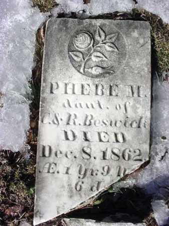 BESWICK, PHEBE M. - Warren County, New York | PHEBE M. BESWICK - New York Gravestone Photos