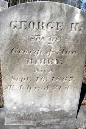 BIBBY, GEORGE H - Warren County, New York | GEORGE H BIBBY - New York Gravestone Photos