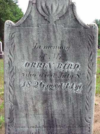 BIRD, ORRIN - Warren County, New York | ORRIN BIRD - New York Gravestone Photos