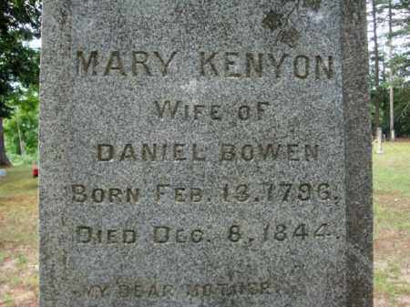 KENYON, MARY - Warren County, New York | MARY KENYON - New York Gravestone Photos