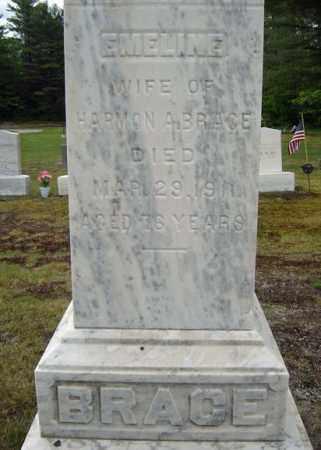 BRACE, EMELINE - Warren County, New York   EMELINE BRACE - New York Gravestone Photos