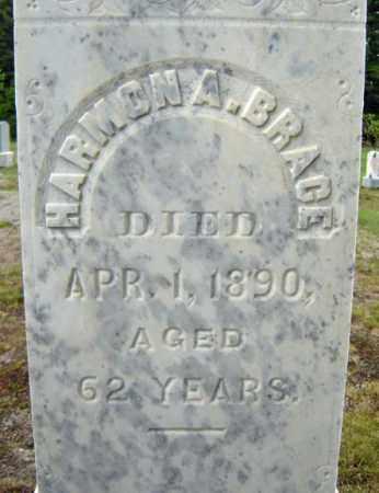 BRACE, HARMON A - Warren County, New York | HARMON A BRACE - New York Gravestone Photos