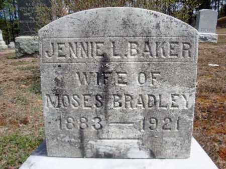 BAKER, JENNIE L - Warren County, New York   JENNIE L BAKER - New York Gravestone Photos