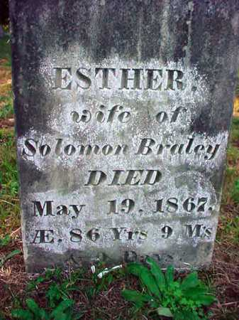 BALLOU BRALEY, ESTHER - Warren County, New York | ESTHER BALLOU BRALEY - New York Gravestone Photos