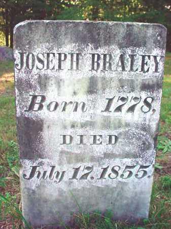 BRALEY, JOSEPH - Warren County, New York | JOSEPH BRALEY - New York Gravestone Photos